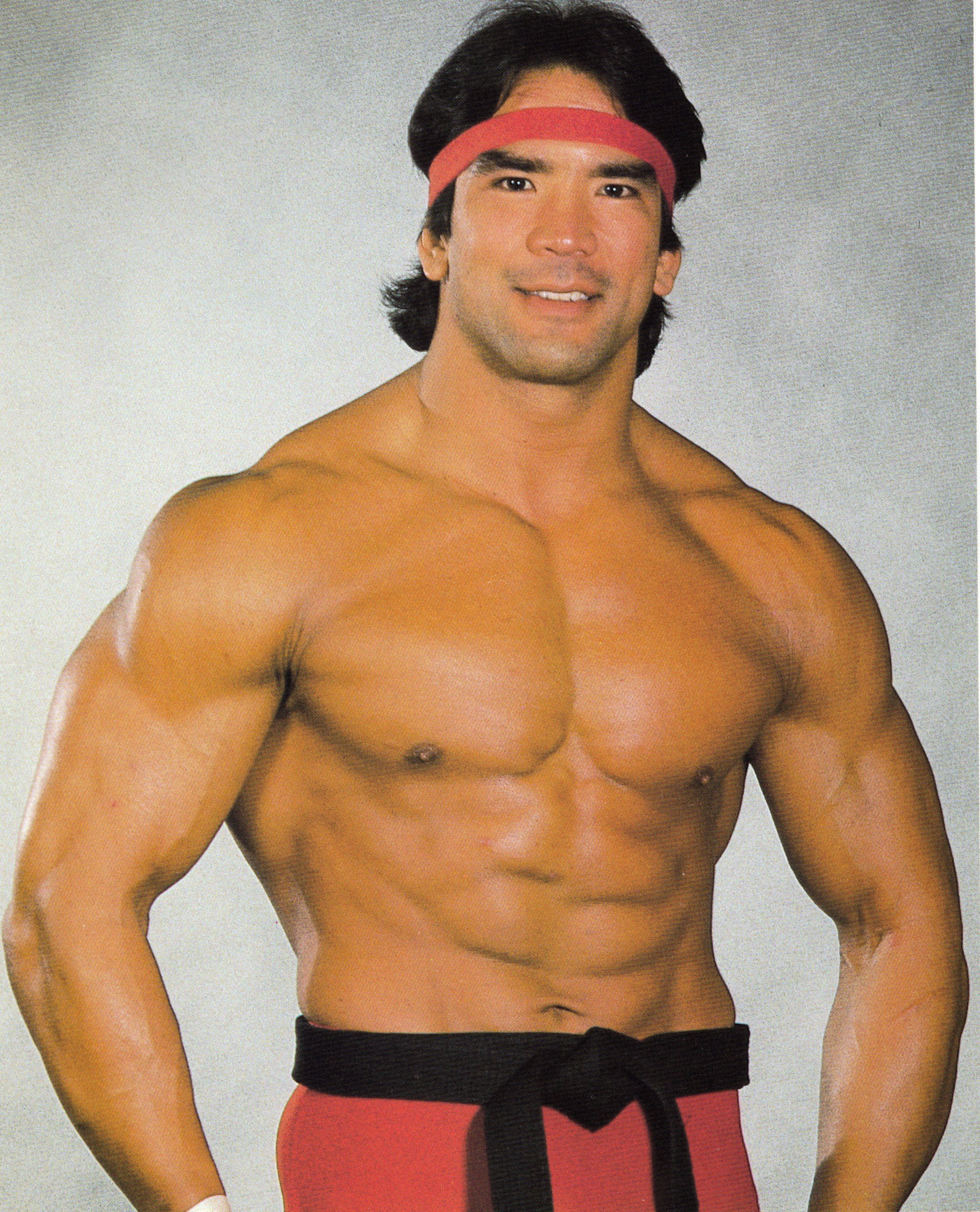 Ricky Steamboat Smiling