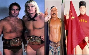 Teach us, magical wrestling icons, about complicated international politics!