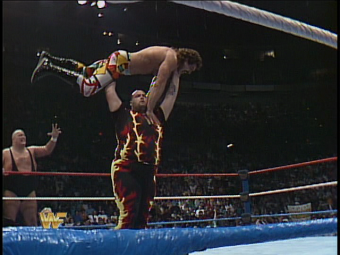I'm sure Rick Rude was also unhappily surprised