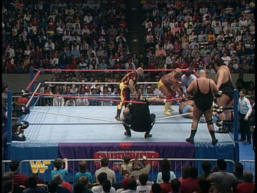 Then One Man Gang just kind of... sits down.