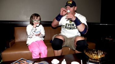 Cena usually has other things on his mind