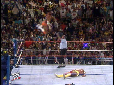 In all fairness, Macho barely got 15 feet of air