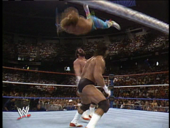 For example, here's Jannetty being thrown 9 feet into the air.
